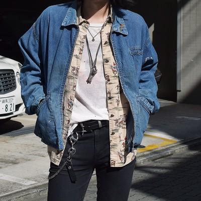 Vintage 40〜50's Denim Jacket