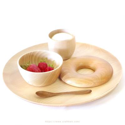 美味しそうなベーグル♪  …の形の、食卓でさりげなく、おしゃれに活躍するアイテム♪