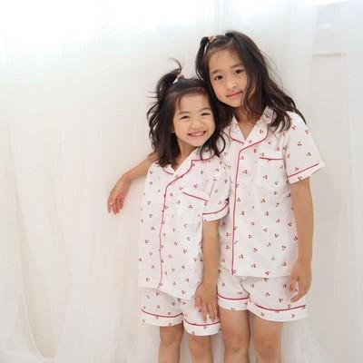 【KIDS】さくらんぼパジャマ