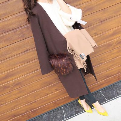 冬のお洒落先取り!!ポケットファーコートですっきり美人に。
