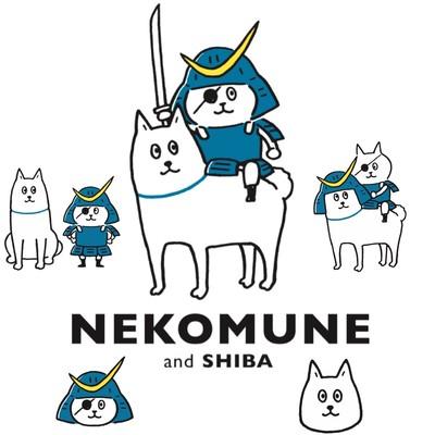 宮城NEWキャラクター「ネコムネandシバ」