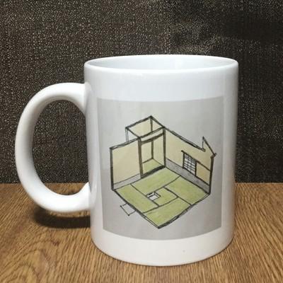 利休の茶室!陶器でできたかわいい&オリジナルのデザインマグカップ!