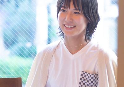 「市松模様」江戸小紋ポケットTシャツ
