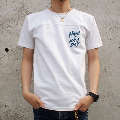 【DARGO/ダーゴ】HAVE A NICE DAY T-shirt