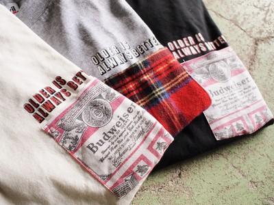 【LOST AND FOUND】リメイクポケットT-shirtシリーズ
