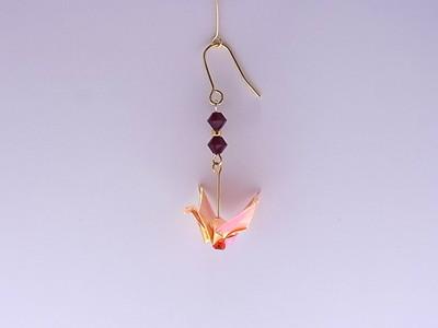 折り鶴ピアス(origami crane earrings)を作り始めたきっかけ