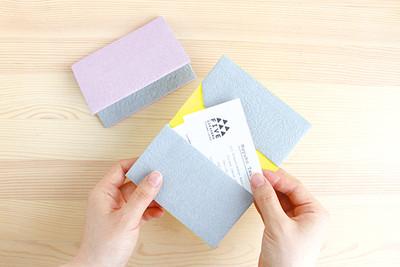五箇山和紙のカードケース