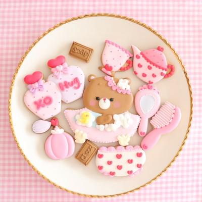 バレンタインデーのアイシングクッキーセットご予約始まります♡