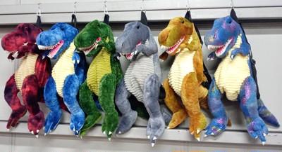 恐竜のぬいぐるみリュックのご紹介です!