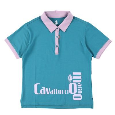 青空のようなラムネ色!【新作】ロゴ入りポロシャツのご紹介