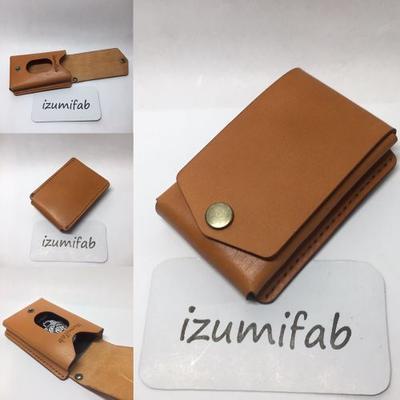 かさばるカードもこれで解決!izumifabのたくさん入るカードケースはいかが?