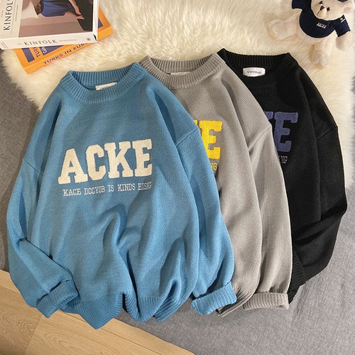 ACKEロゴセーター