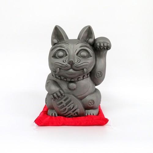 招き猫「招鬼猫きばニャンコ10号」鬼師kumi作
