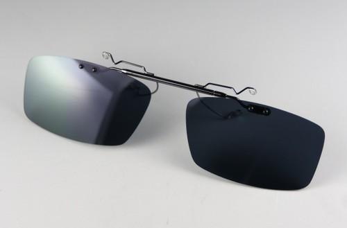 レンズ交換可能!前掛け式偏光レンズ:ダークグレーEX