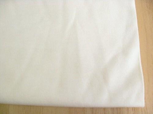 J&B定番綿コーマ糸40双糸天竺ニット 生成り(綿カスを残しています) NTM-2633