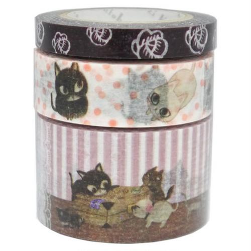 猫マスキングテープセット(cat cat cat)