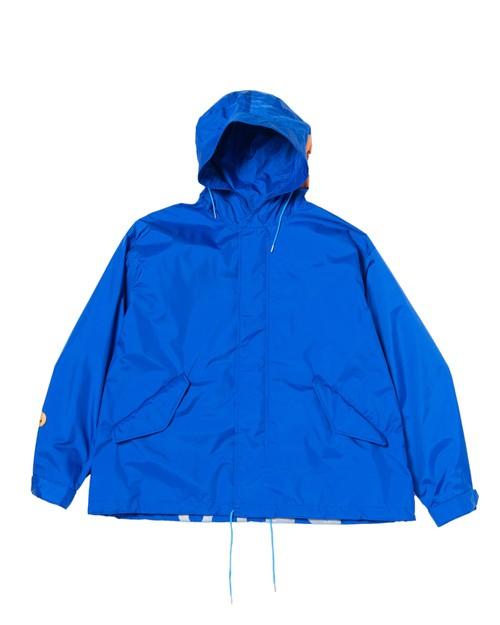 """Last one!"" Cutoff Nylon Mods Coat / BLUE"