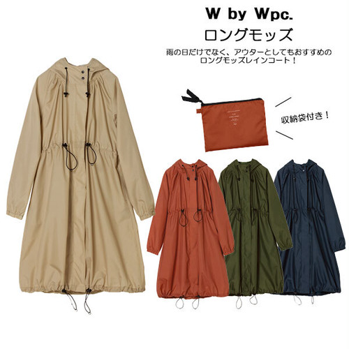 W by wpc.ロングモッズ コート