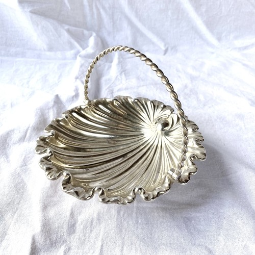French 1920~1940's Silver Trey -Shell Shape-