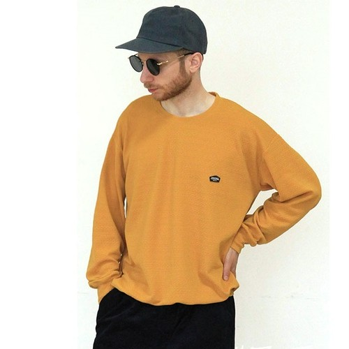 quolt LOOSE CUTSEW / クオルト カットソー / MUSTARD / 901T-1223