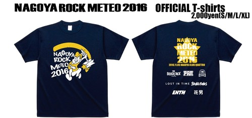 【SALE】NAGOYA ROCK METEO 2016 Tシャツ