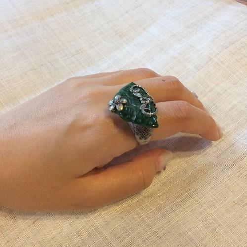 韓国伝統アクセサリー 蝶・指輪