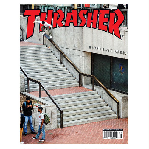 THRASHER - AUGUST 2018. Issue 457