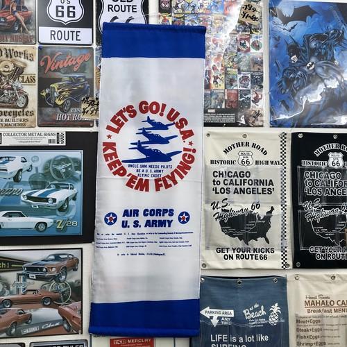 """【42-0007】 アメリカンタペストリー """"U.S.ARMY"""""""
