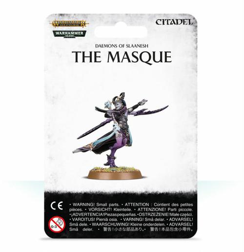 マスク DAEMONS OF SLAANESH: THE MASQUE