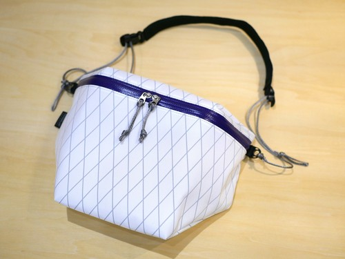 WANDERLUST EQUIPMENT / KAMPALA PACK(WHITE×PURPLE)