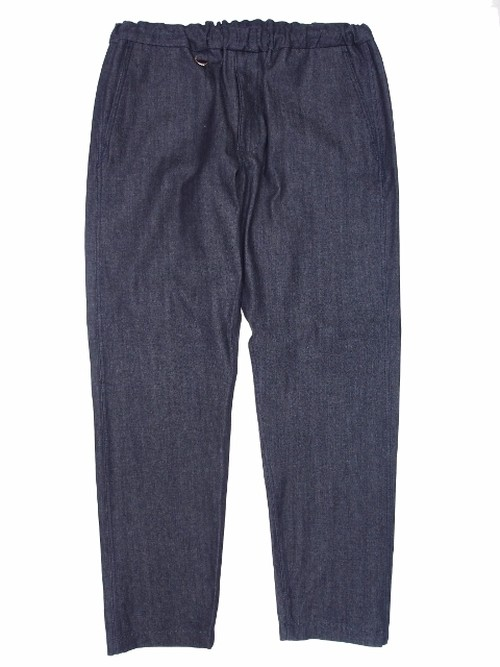 DENIM EASY PANTS RIGID DENIM NAVY