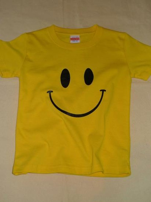 ■BIG SMILY Tシャツ ■親子でオソロコーデ可能!