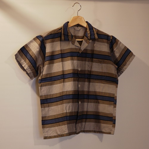 MONTGOMERY WORD 1960's S/S Shirt Size18