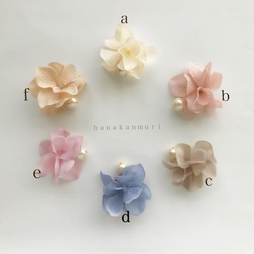 [6色]可愛い花びらのピアスのキャッチ/選べる6作品