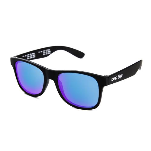 DANG SHADES × BURITSU  LOCO Black Soft / Marine Blue Mirror Polarized(偏光レンズ)
