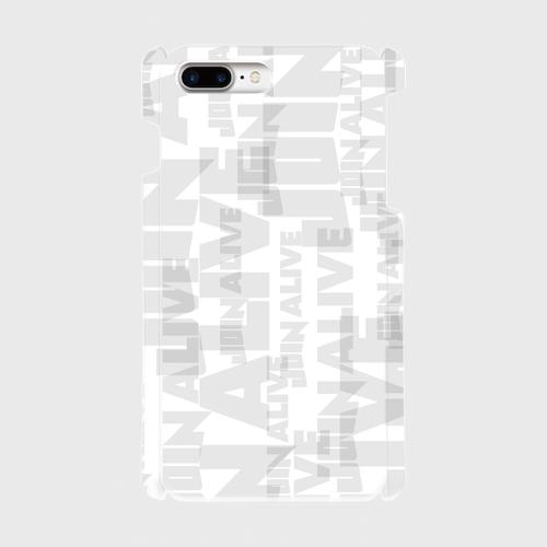 (通販限定)【送料無料】iPhone7Plus_スマホケース ランダム_ホワイト