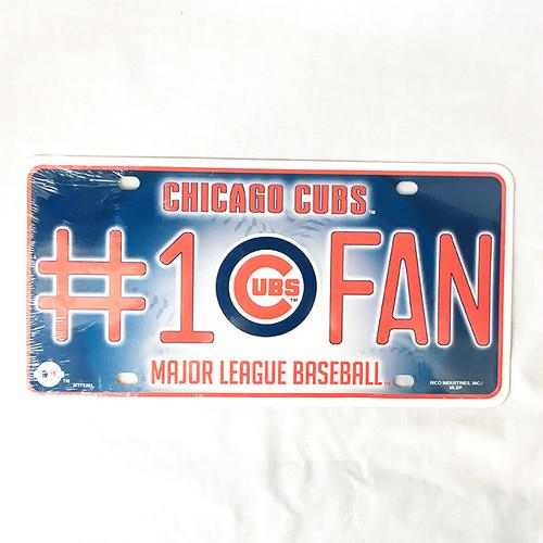 シカゴ カブス CHICAGO CUBS メタル ライセンスプレート MLB メジャーリーグ RICO 2956