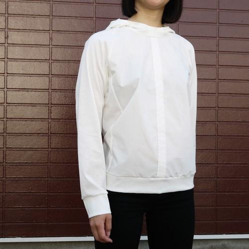 Shirts Fab. raglan hood cut&sew Off white ykcs-501