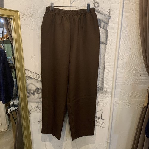 polyester easy pants