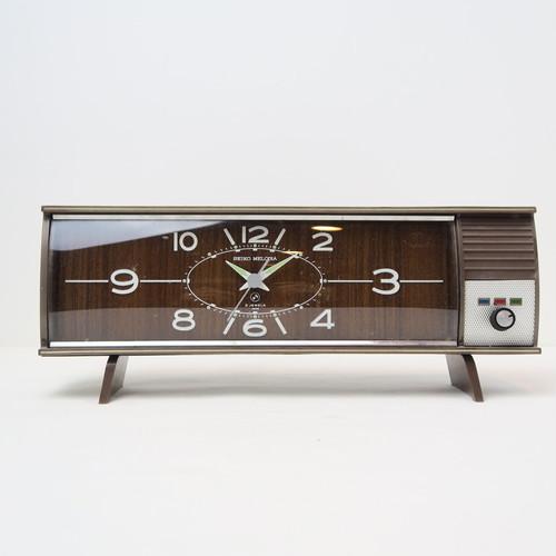 SEIKO MELODIA オルゴール付き中型置時計