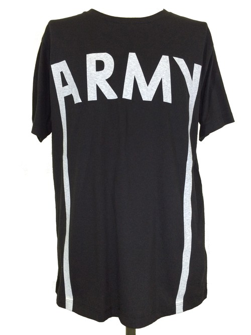 ARMY SHORT SLEEVES -BLACK-