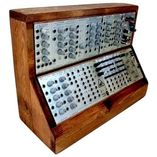 6U 168HP Eurorack Modular Wood Case VC-002