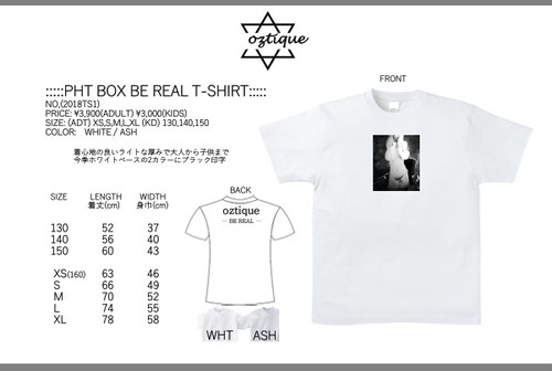 PHT BOX BE REAL T- shirt