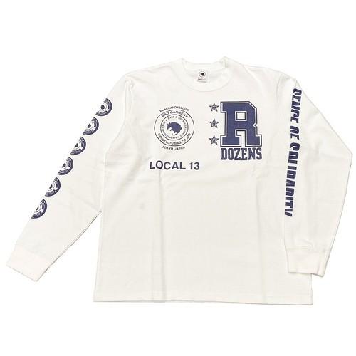 RATS(ラッツ) / COLLEGE L/S(20'RTC-0202)(ロングスリーブTシャツ)