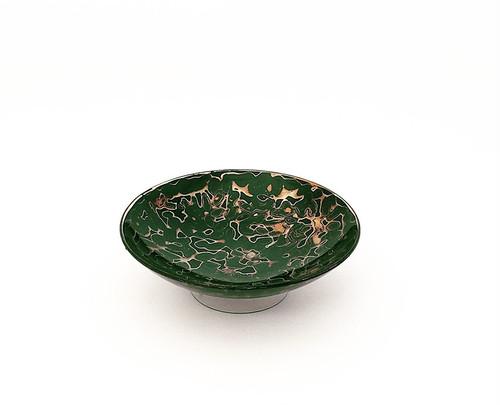 紫翠盃 金虫喰い 緑