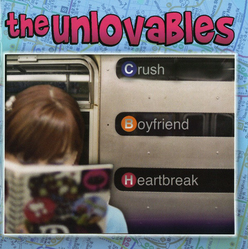 the unlovables / crush boyfriend heartbreak cd USED