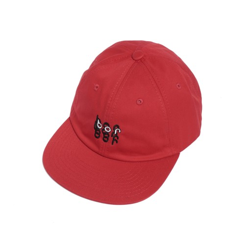 BAL COTTON 6-PANEL HAT(RED)