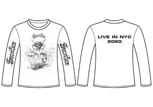 SACRIFICE NYC公演限定ロングスリーブTシャツ