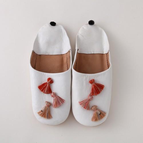 WHITE -redフリンジ-