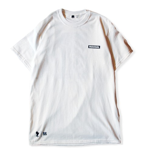 Distortion S/S TEE(WHT)